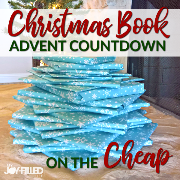 Christmas Book Advent Countdown on the Cheap